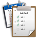 JOBS CARDS, DIARY AND SCHEDULER